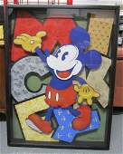 Disney Commissioned One of a Kind Artwork