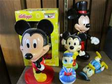 Vintage & Other Mickey Toy Figures