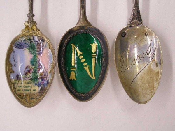 2010: Continental Silver Napoleonic souvenir spoons