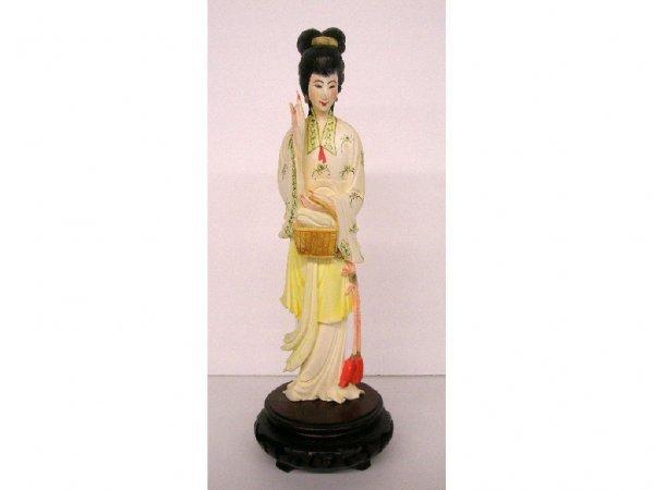 2095: Oriental ivory Geisha figures