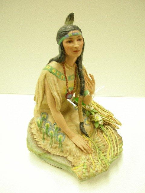 4173: Cybis Dakota Laughing Water Minnehona figure