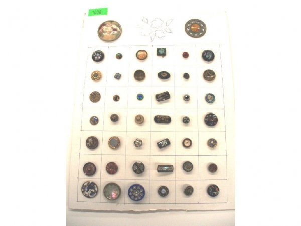 1008: Late 19th to early 20th C. buttons