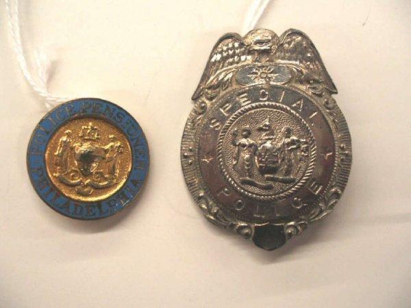1019: Vintage police badges