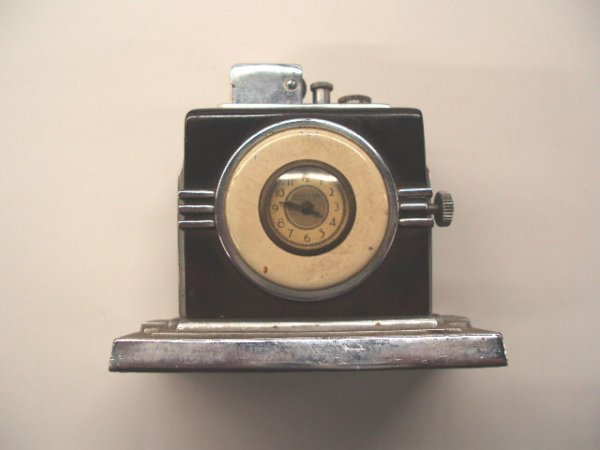 1077: 1930's Ronson Touch Tip & Watch lighter