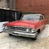 1964 Ford Galaxie convertible, 500 model, one owne