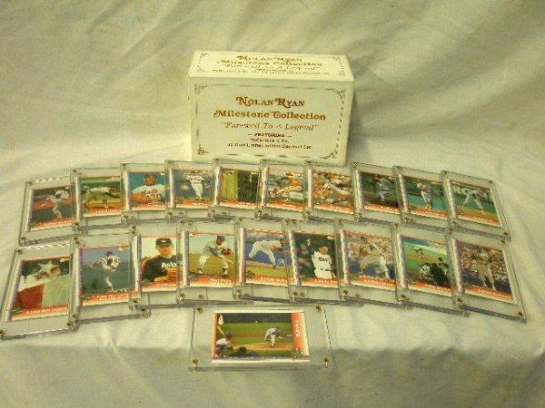 2001: Nolan Ryan Milestone Collection card set