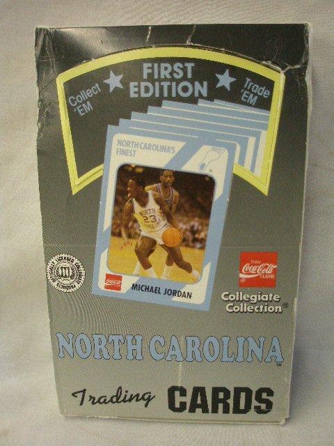 2003: 1990 unopened box North Carolina trading cards