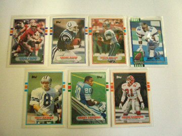 2006: Topps Traded Football rookie cards