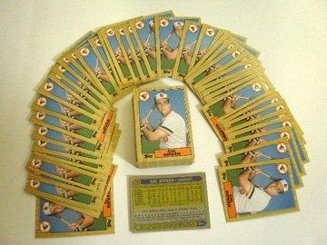2008: 1987 Topps Cal Ripken Jr. cards