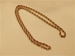 14k yg Rope Chain