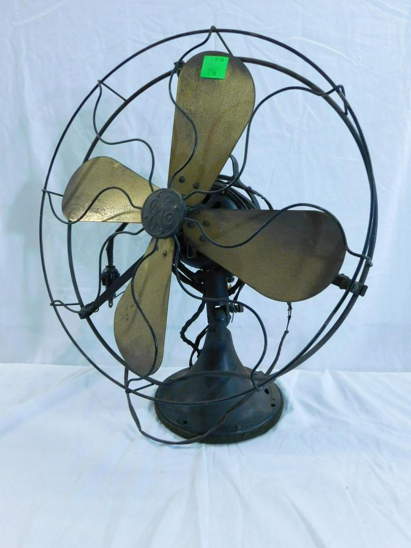 GE Brass Blade Fan