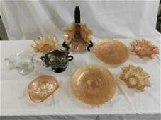 Dugan Carnival Glass Lot