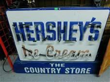 """""""Hersheys Ice Cream"""" Neon Outdoor Sign"""