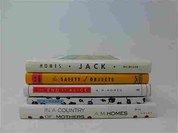Homes AM Five Books Some Signed