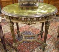 1292 Louis XVIstyle giltwood center table