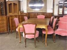 1352 John Widdicomb Co 13 pc Dining Room Set