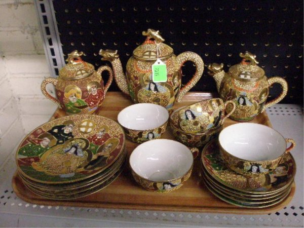 2015: Satsuma Porcelain Tea Set