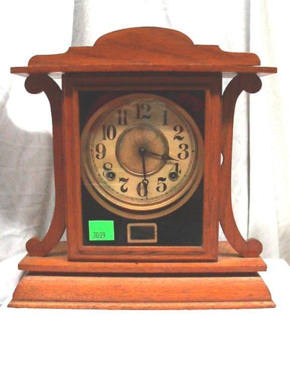 3009: Oak Shelf Clock