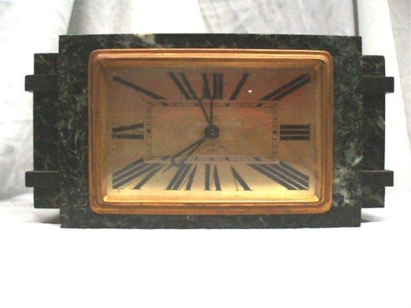 "3013: ""French Make"", Phila Art Deco Alarm Clock"