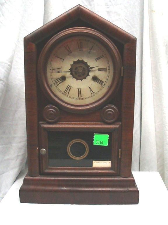 3016: Gilbert Sharp Gothic Shelf Clock