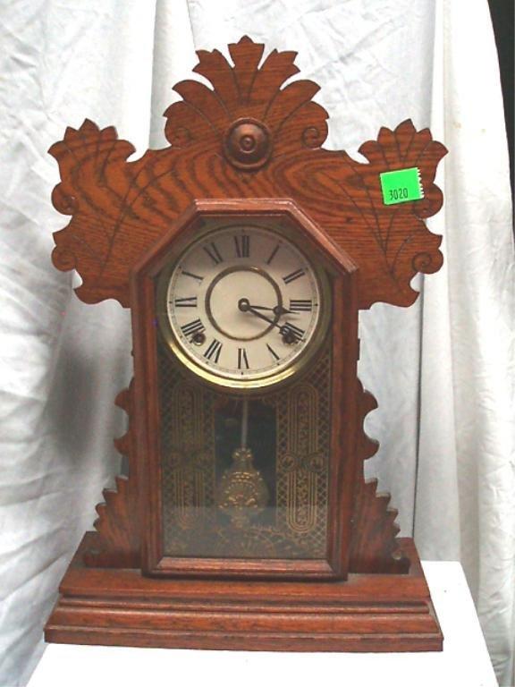 3020: Ginger Bread Kitchen Shelf Clock