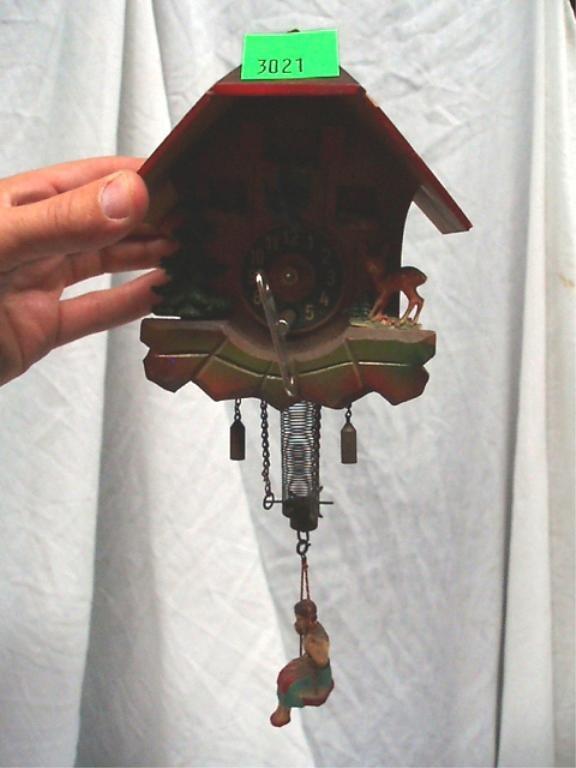 3021: Mini Swiss Cuckoo Clock