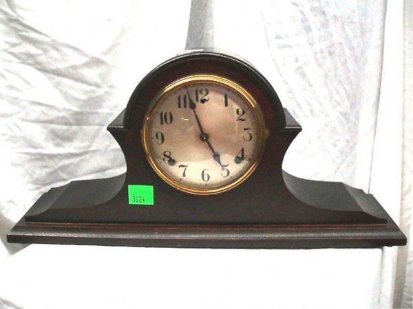 3024: Gilbert Camel Back Mantel Clock