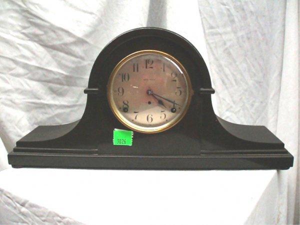 3026: Seth Thomas Tambour Mantel Clock