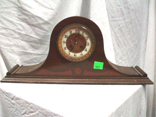 3027: Art Deco Tambour Mantel Clock