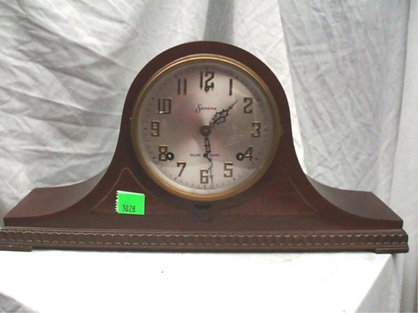 3028: Sessions Tambour Mantel Clock