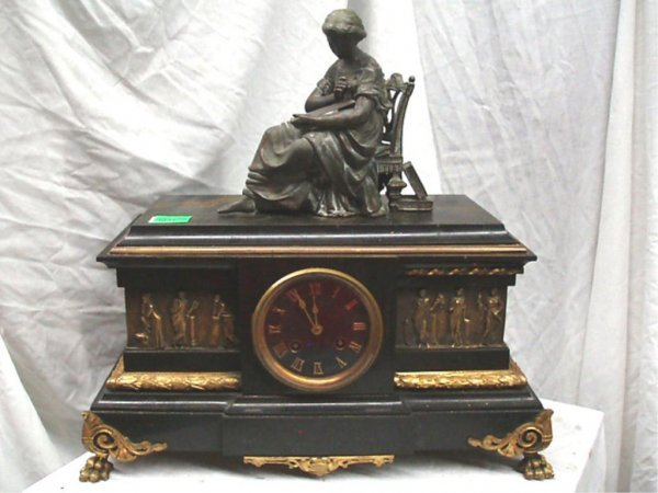 3037: Japy, France, French Empire Mantel Clock
