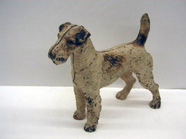 3094: Hubley Fox Terrier Door Stop