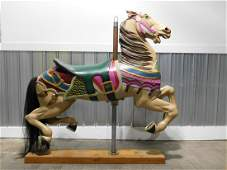 Antique Jumper Carousel Horse B