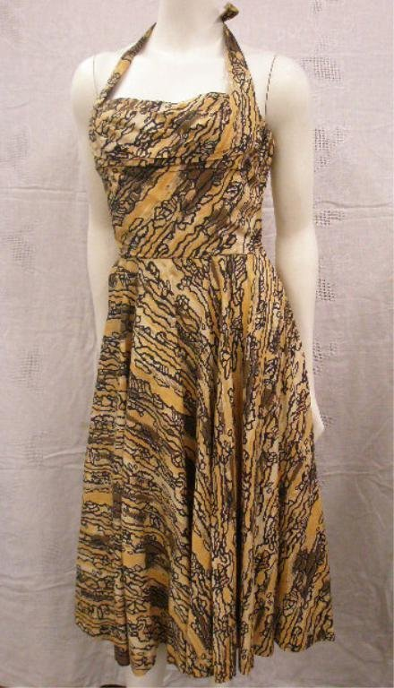 1183: Ceil Chapman late day dress
