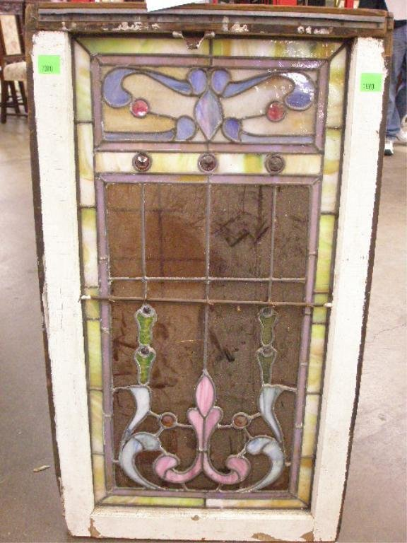 2000: Leaded & stained glass window