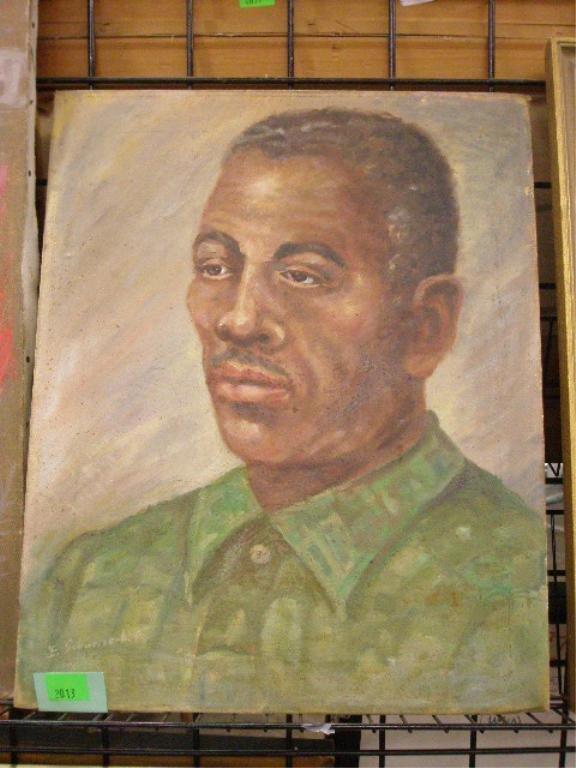 2013: E. Schwizerhof, Portrait of an African Man