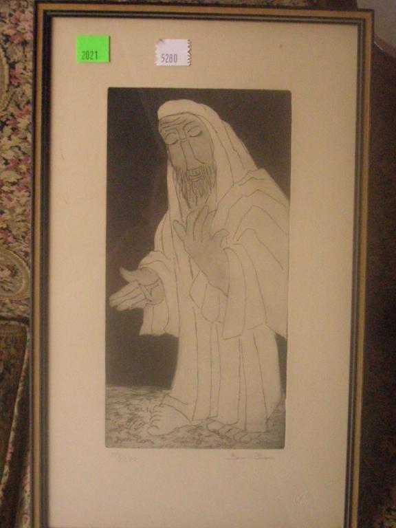 2021: Ben-Zion, Rabbi in Prayer