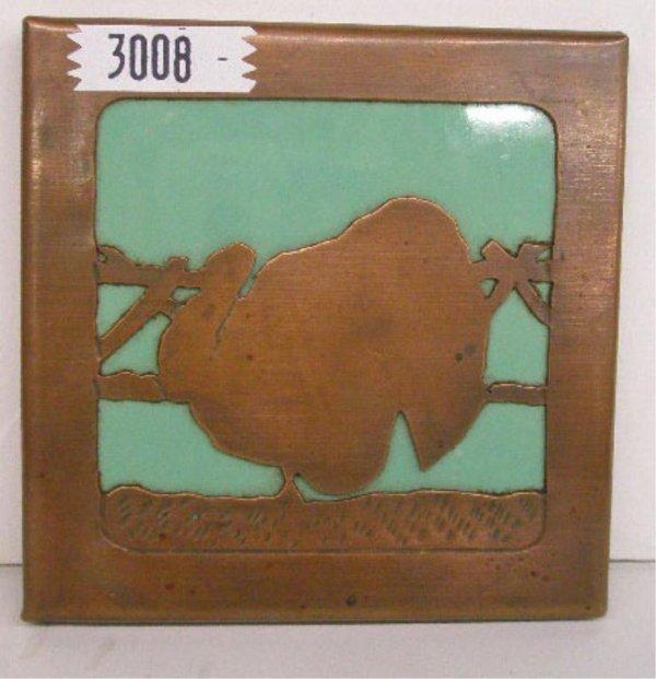 Mosaic Tile Co. Copper Encased Tile
