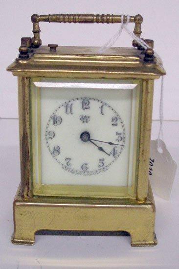 19th c. Waterbury Clock Co. Carriage Clock