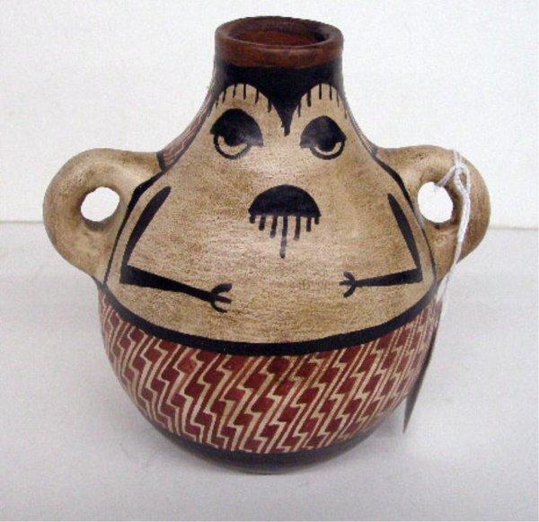 Contemporary Diaguitas Indian Pottery Vase