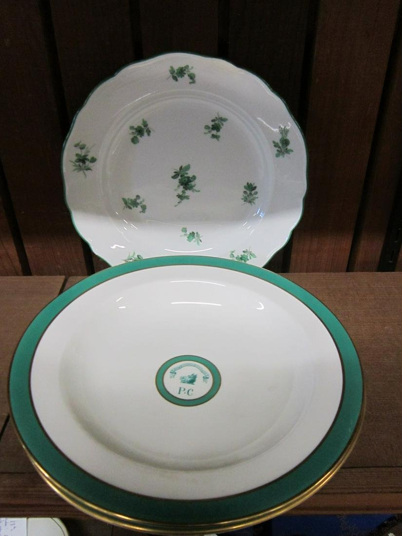 Two Harvard Porcellian Club Soup Bowls