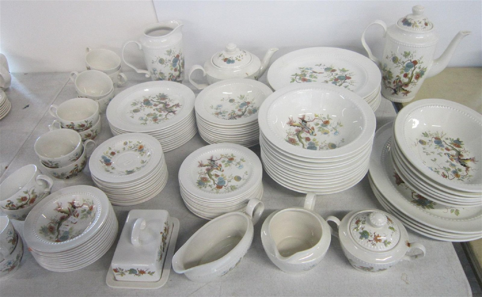 Royal Cauldon 112+ Piece Dinnerware set