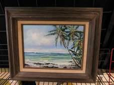 Jeanne Lopes oc Hawaiian Beach Scene