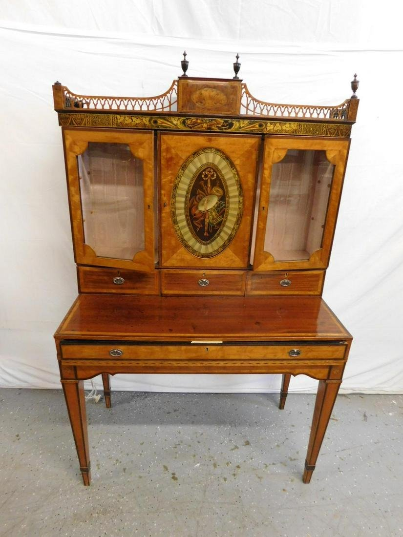 French Neoclassical Style Lady's Secretary Desk