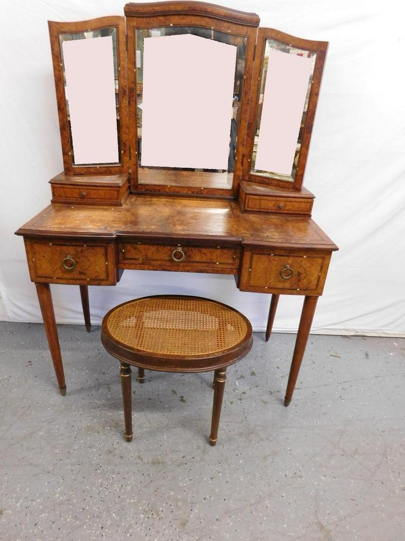 Neoclassical Vanity & Bench