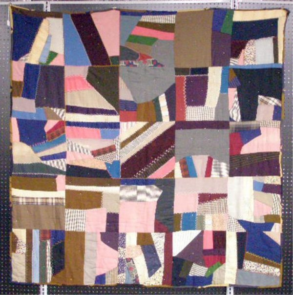 4004: Early to Mid 20th c. Crazy Quilt