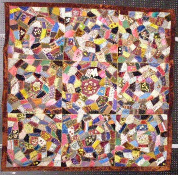 4008: Victorian Crazy Quilt