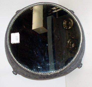 4021: Silver Plate Mirrored Plateau