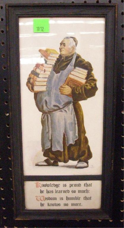 1012: Arts & Crafts Style Poem Print