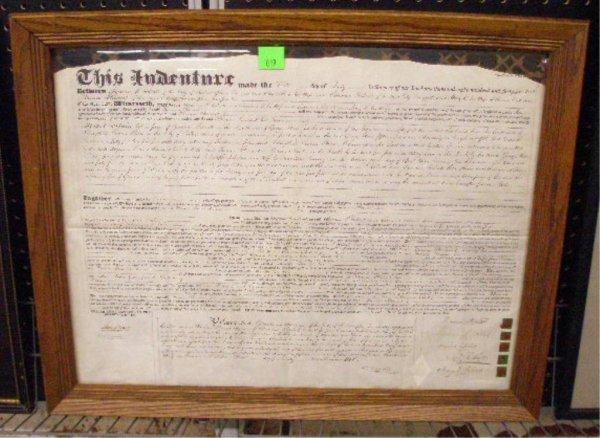 1019: 1845 Philadelphia Indenture